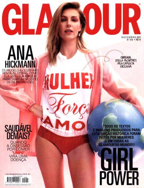 Revista Glamour Laces And Hair