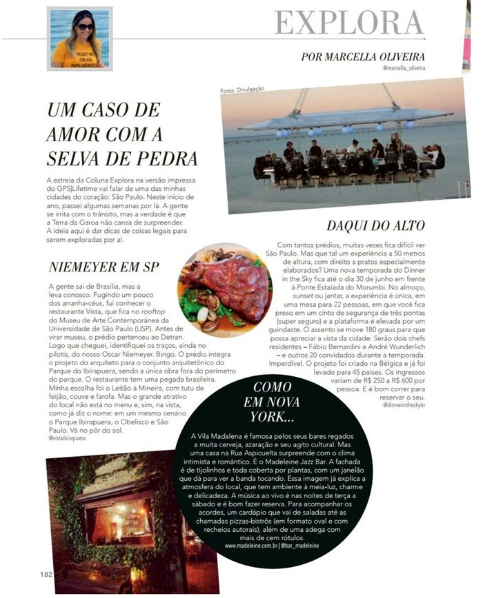 Revista GPS Lifetime - Spa Laces and Hair