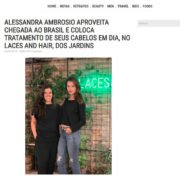 Laces and Hair - Alessandra Ambrosio e Cris Dios