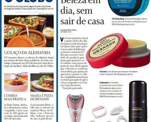 Jornal O Globo Laces and hair