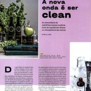 Laces and Hair Revista Exame - A nova onda é ser clean